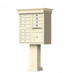 12 Door Classic Decorative CBU Mailboxes
