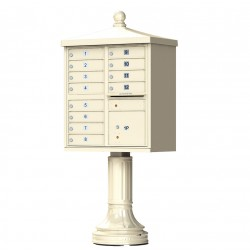 12 Door Traditional Decorative CBU Mailboxes