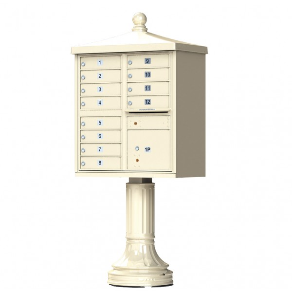 Florence Commercial Mailboxes - 12 Door 1570 CBU - 1570-12