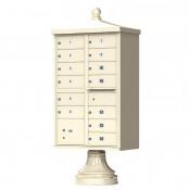 13 Door Traditional Decorative CBU Mailboxes