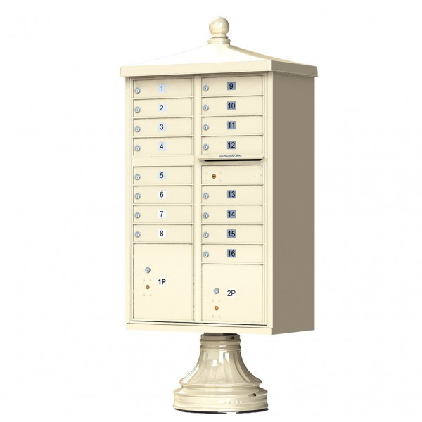 Florence Commercial Mailboxes - 16 Door 1570 CBU - 1570-16