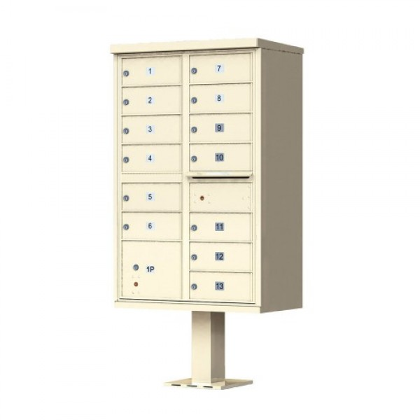 Florence Commercial Mailboxes - 13 Door 1570 CBU - 1570-13