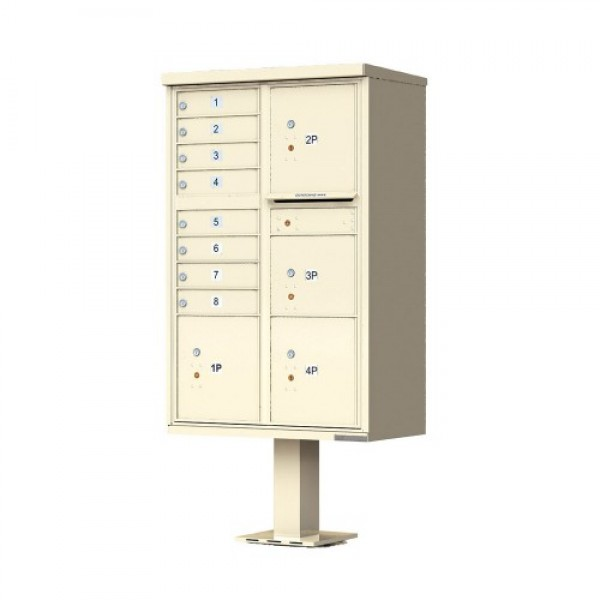 Florence Commercial Mailboxes - 8 Door 1570 CBU - 1570-8T6