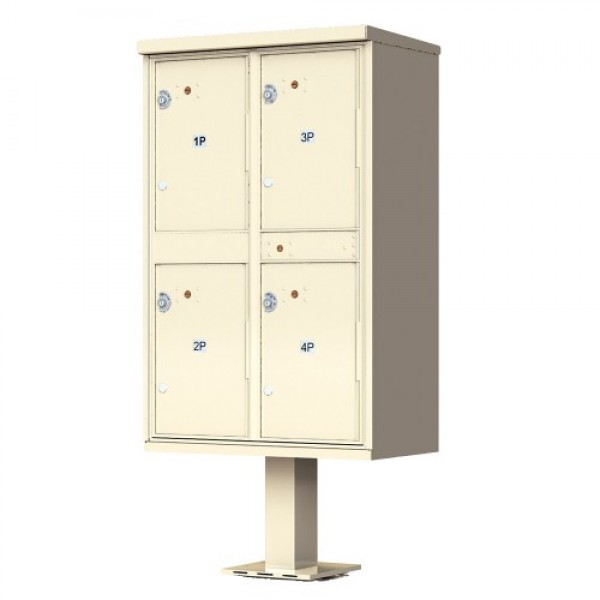 Florence Commercial Mailboxes - 4 Door 1590 CBU - 1590-T2