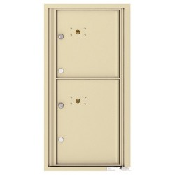 2 Parcel Doors Unit - 4C Wall Mount 9-High - 4C09S-2P
