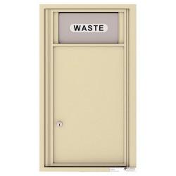 Trash/Recycling Bin - 4C Wall Mount 9-High - 4C09S-BIN