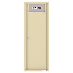 Trash/Recycling Bin - 4C Wall Mount 13-High - 4C13S-BIN