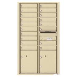 15 Door High Front Loading (54-1/3 in. High)