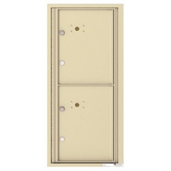 2 Parcel Doors Unit - 4C Wall Mount ADA Max Height - 4CADS-2P