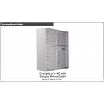 29 Tenant Doors and Outgoing Mail Compartment - 4C Wall Mount Max Height Mailboxes - 4C16D-29