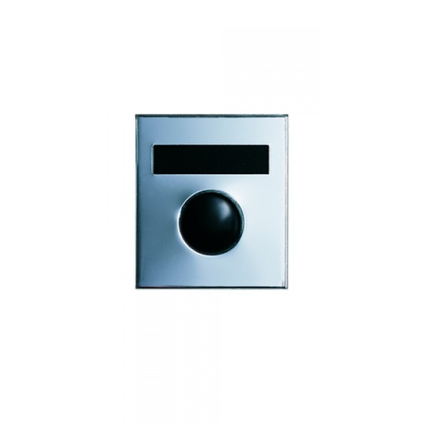 Economy Door Chime with Name Plate (Anodized Silver) - 687101-01